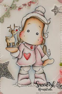 Tilda with Little Rudolf | By Tamara - Swedish House Crafts