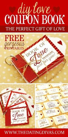 DIY Love Coupons - 20 Best DIY Valentine's Day Gifts for Your Man | GleamItUp