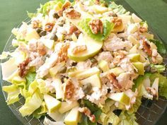 Cooking with Lola García: chicken and apple salad - mi tablero - Ensaladas Salad Recipes, Diet Recipes, Chicken Recipes, Cooking Recipes, Healthy Recipes, Healthy Menu, Healthy Eating, Clean Eating, Deli Food