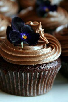 Chocolate:  #Chocolate #Cupcakes.