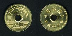 5円 - Google 検索 Guide To Japanese, Japanese Yen, Japanese Kanji, Japanese Beauty, Kasumi Tendo, Five Thousand, Old Money, Naha, Rare Coins