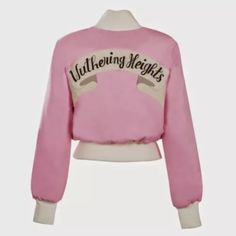 LIMITED EDITION Kate Bush-inspired bomber jacket by embroidery genius OLYMPIA LE TAN appliquéd with WUTHERING HEIGHTS wool felt patch handmade in France size 42 (UK 14) please note the bomber comes up really small (I am UK 10 & the fit is good on me) SOLD OUT retailed for 685 euros (£534)
