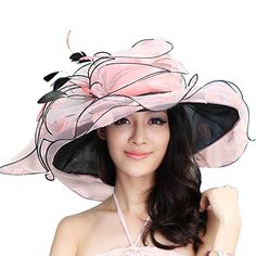 June's Young Women Sun Hat Wide Brim Fashion Beach Hat (Pink/black) June's Young http://www.amazon.com/dp/B00N8NBSDE/ref=cm_sw_r_pi_dp_.WWkvb03CCMW9