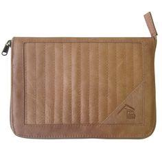 Leather Bourbon iPad mini case
