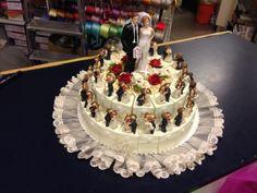 Torta sposi due piani (Grooms cake two floors)