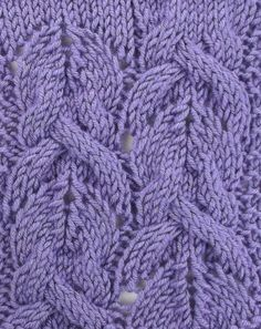 Japanese Fantail Cables, a truly impressive pattern.  You'll find it in the Japanese Cables & Crossed stitches category.
