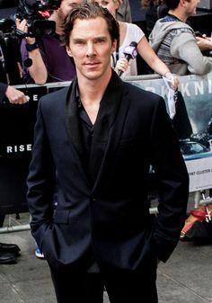 Benedict ranks 12th in Top 20 Sexiest Men In Suits