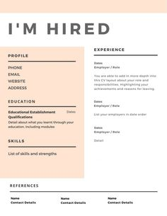 6 Super Useful Tips For Writing A Resume