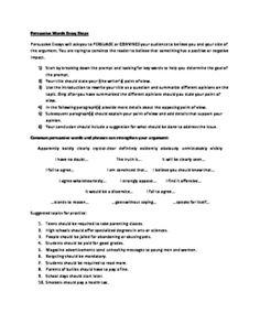 essay persuasive short write