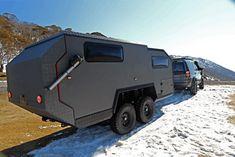 bruder exp-6 parked snow