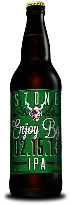 Stone Enjoy By 2.15.13 IPA