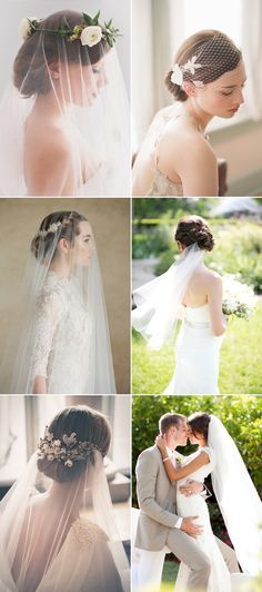 Many brides love the classic look of a veil but still want a wedding hairstyle that stuns! There are so many ways to wear a veil and it becomes quite tricky to find a hairstyle that will support your type of veil. Here are some beautiful ideas to help you find that perfect veil-and-hairstyle match …