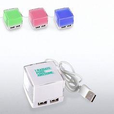 Exclamations Illuminating USB Hub
