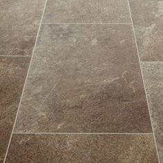 Harmony 544 Nepal Stone Tile Vinyl Flooring - KITCHEN?