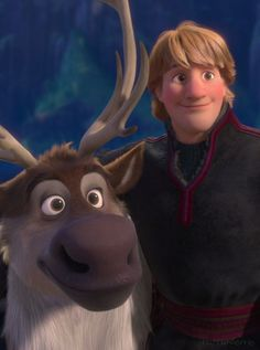 Kristoff and Sven from Frozen. You can't deny it...these two are the best of best friends :) |Disney||Frozen|