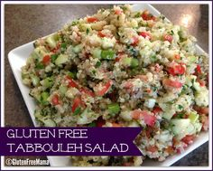 Gluten Free Tabbouleh Salad