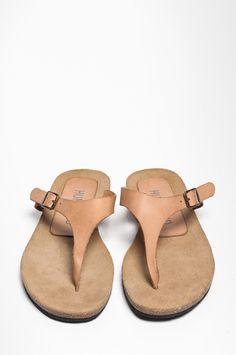snuit pelle leather slipper