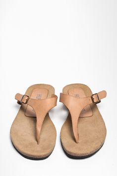 snuit pelle leather slipper