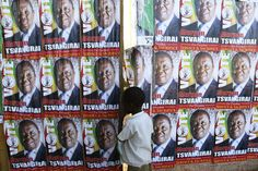 Zimbabwe presidential election sees 'tremendous turnout' Polling Stations, Son In Law, Recent News, Big Challenge, Zimbabwe, Presidential Candidates, West Africa, S Pic, Presidents