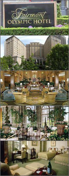 The Fairmont Olympic Hotel, Seattle, Washington, USA