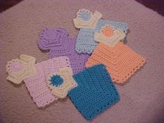 Crochet Angel Prayer Cloth (Wonderful for children/parents) FREE BUT SEE INFO ON WEBSITE. CHARITY USE ONLY.
