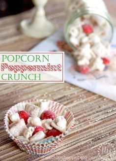 Popcorn Peppermint Crunch