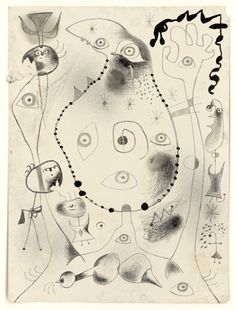 One of 50 lithographs from Joan Miró's Barcelona Series 1944    © Successió Miró/ADAGP, Paris and DACS, London 2011