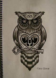 tattoo buho tumblr - Buscar con Google