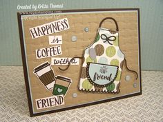 Apron of Love with Coffee Cafe