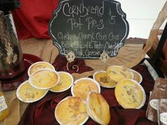 Cornbread Pot Pies