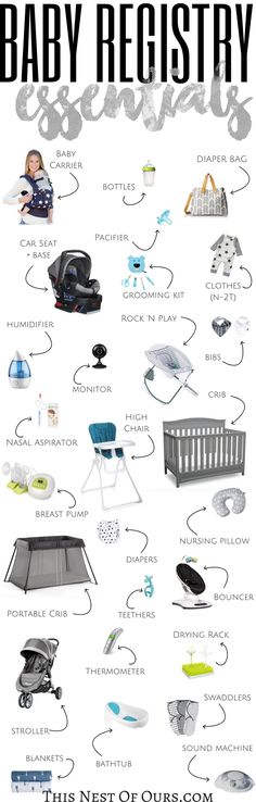 187 best Baby Registry images on Pinterest Best baby registry, Buy - baby registry checklists