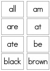 pre primer sight words flash cards pinterest primer cards and free