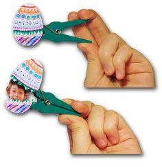 Kodak Moments:  - Surprise your loved one with a personalized Easter Egg clothespin!