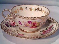 Teapots And Cups, Teacups, Vintage Tea, Vintage China, Antique Tea Cups, China Tea Cups, My Cup Of Tea, Tea Service, Tea Cup Saucer