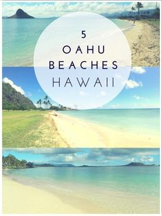 5 Oahu Beaches to Visit in Hawaii #HawaiiTravel