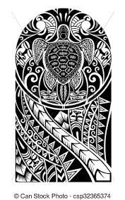 maori tattoo designs - Traditional Maori tattoo design with turtle Hawaiianisches Tattoo, Samoan Tattoo, Tattoo Maori, Thai Tattoo, Polynesian Tattoo Designs, Maori Tattoo Designs, Polynesian Tattoo Sleeve, Polynesian Art, Tattoo Painting