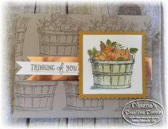 Oksana's Creative Corner: Team Stamp It Fall blog Hop | Basket of Wishes