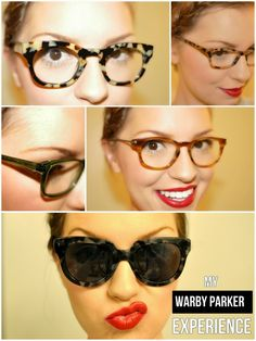 Warby Parker Rimless Glasses : Katie Cassidy // Warby Parker Glasses // Daniela Corte ...