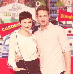 Ginnifer Goodwin and Josh Dallas/ Prince Charming and Snow White <3