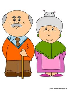 Grandparents Day Activities, Bride And Groom Cartoon, Family Drawing, Grands Parents, Art Impressions, Conte, Emoticon, Cartoon Drawings, Baby Quilts