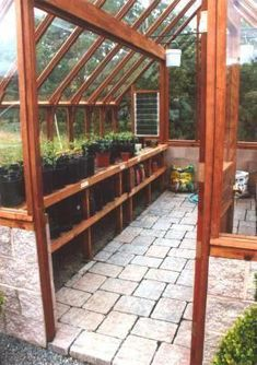 Every thought about how to house those extra items and de-clutter the garden? Building a shed is a popular solution for creating storage space outside the house. Whether you are thinking about having a go and building a shed yourself Greenhouse Supplies, Greenhouse Interiors, Backyard Greenhouse, Greenhouse Growing, Small Greenhouse, Greenhouse Plans, Greenhouse Wedding, Greenhouse Heaters, Plant Watering System