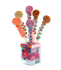 Sweet Stick Candy Kabob Skewers Arrangement