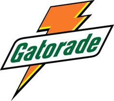 gatorade lightning bolt registered as trademark on this day in 1976 rh pinterest com old gatorade logo font Original Gatorade Logo