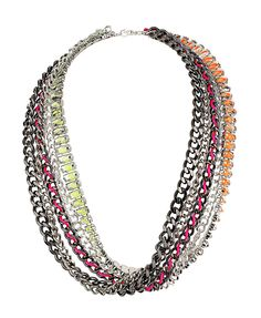 Multi-layer Fluorescent Necklace
