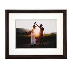 Wood Picture Poster Display Frames with Matboard (Wood - at Wood Picture Frames, Picture On Wood, Framing Photography, Love Photography, Traditional Picture Frames, Poster Display, Black Wood, Hardware, Usa
