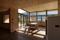 pedit & partner architekten Partner, Divider, Interior, Room, Furniture, Home Decor, Wood Facade, Solar Shades, Architects