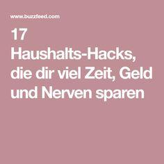 17 Haushalts-Hacks, die dir viel Zeit, Geld und Nerven sparen