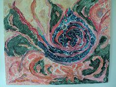 pintura acrilico craquelado con plasticola
