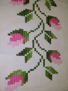 Asuman Karagöz's 648 media content and analytics Embroidery Sampler, Embroidery Applique, Embroidery Stitches, Small Cross Stitch, Cross Stitch Rose, Bargello Patterns, Free To Use Images, Contemporary Embroidery, Crochet Cross