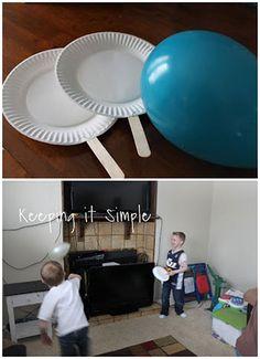 Ballon-ping-pong